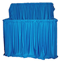 2 Tier PVC Professional Puppet Stage
