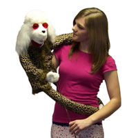 "Wrap Around 38"" Poodle Puppet"