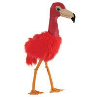 Professional Giant Bird Flamingo Puppet