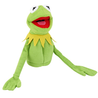 "10"" Kermit the Frog The Muppets Hand Puppet"