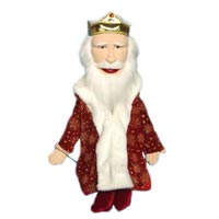 "28"" King Full Body Puppet - Sculpted Face"