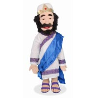"28"" Sculpted Face - King David Full Body Puppet"