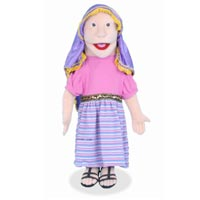 "28"" Sculpted Face - Mary Magdalene Full Body Puppet"