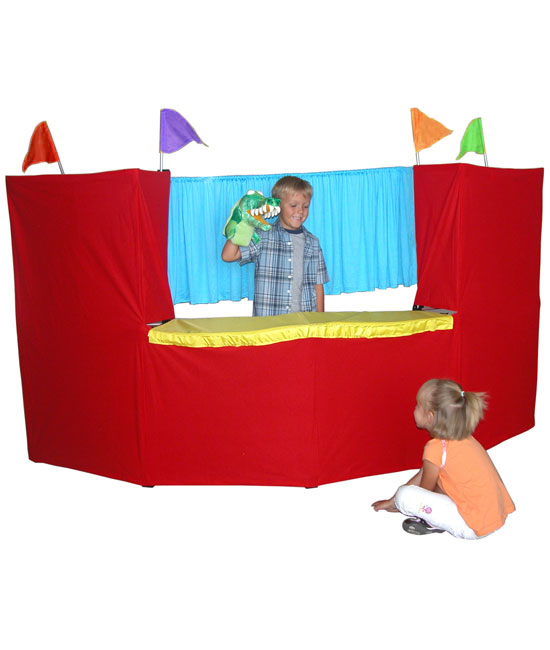 Portable Fold Up Children's Puppet Stage