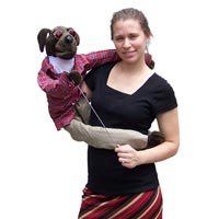 "Wrap Around 38"" Hound Dog Puppet"